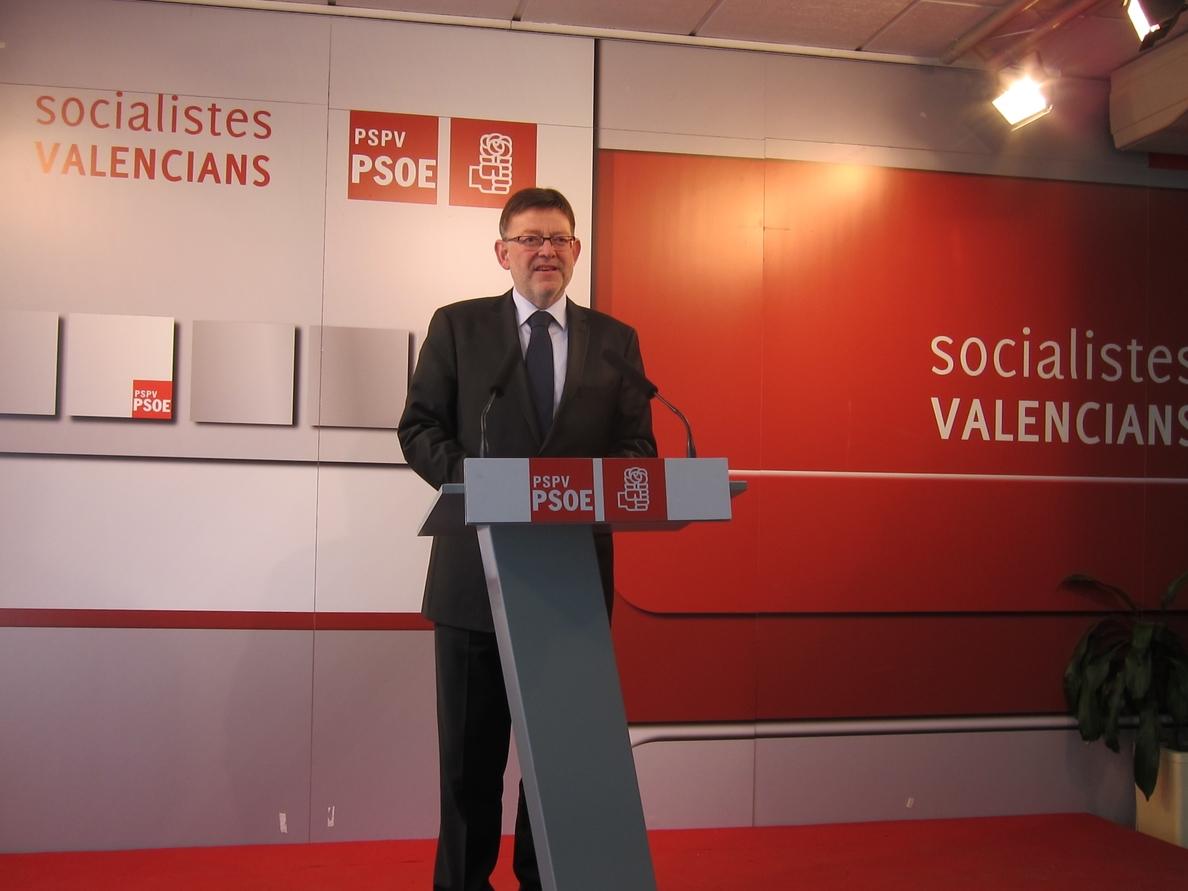 Puig destaca la «voluntad inequívoca de cambio» en la Comunitat y dice que el PP debería aprender de las primarias