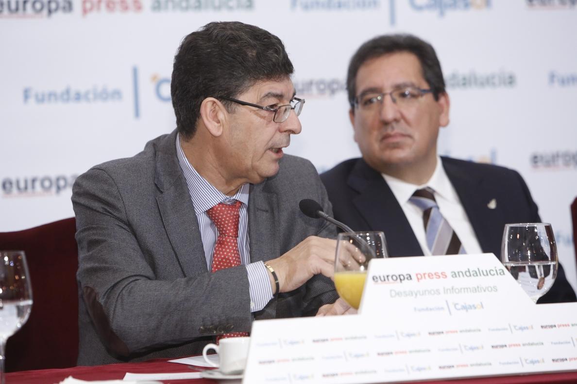 Valderas pide «más velocidad» en las acciones de la Junta de Andalucía y reclama propuestas «más atrevidas»