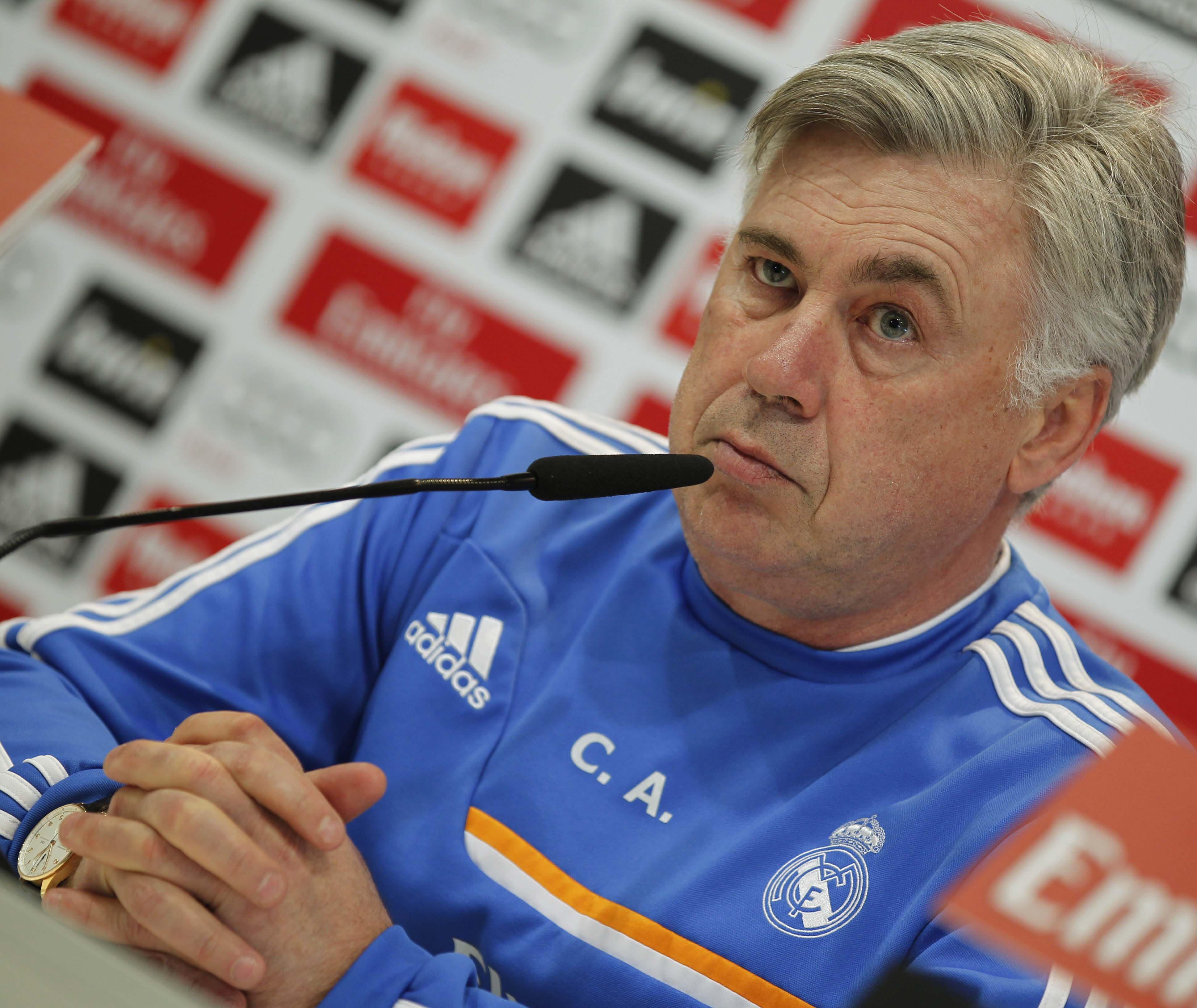 Ancelotti: «Si la acción entre Pepe y Busquets llega a ser al revés no se lo que pasaría»