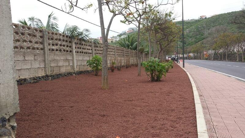 Cabildo de Tenerife crea cuadrillas de mantenimiento de jardines de las carreteras insulares