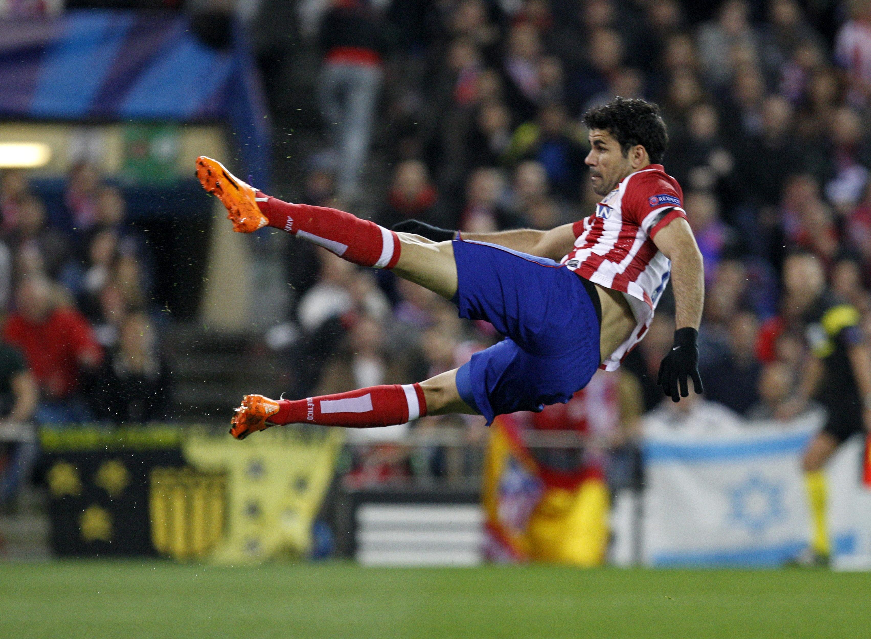 El Atlético buscará ante el Granada su gol 100 esta temporada