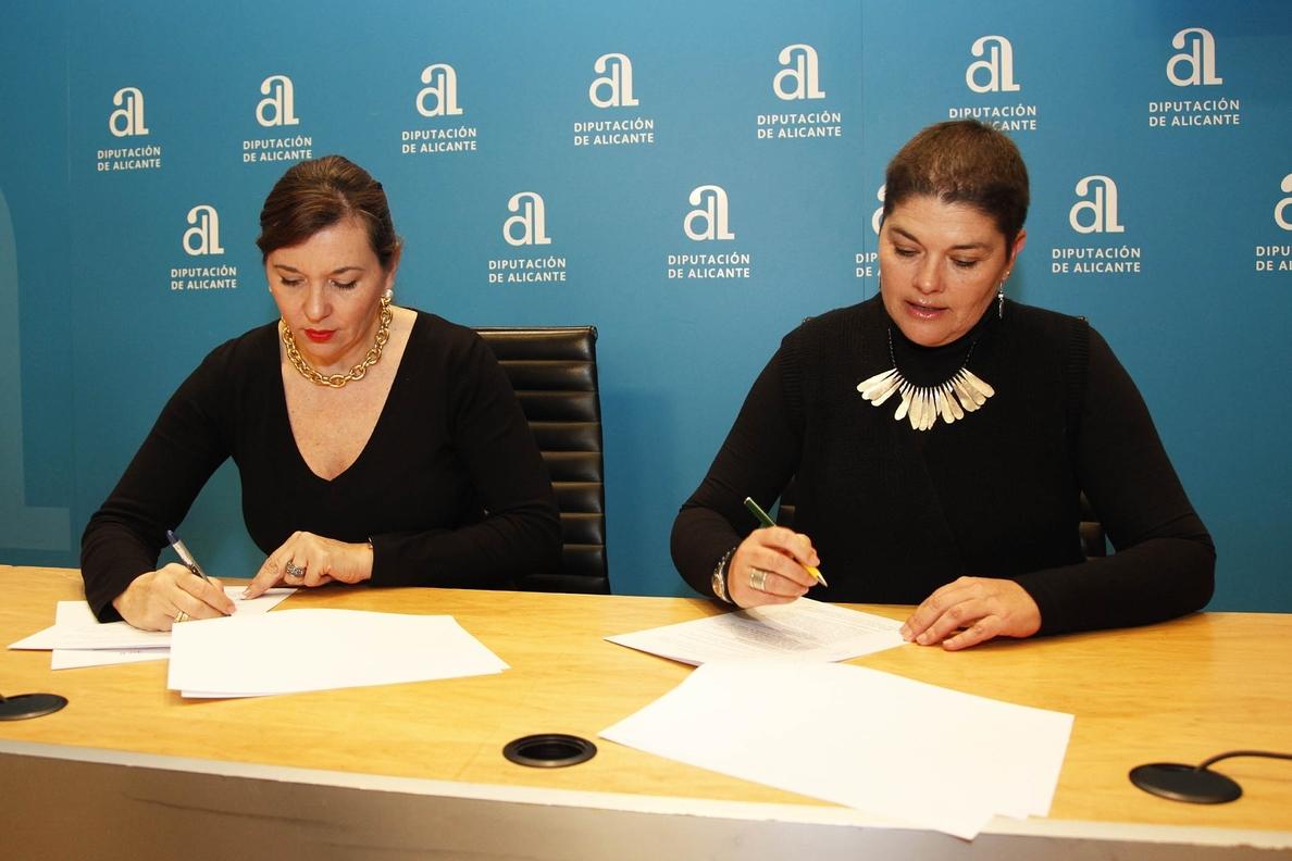 Diputación y Programa de Reinserción trabajarán en la formación de mujeres en situación de vulnerabilidad
