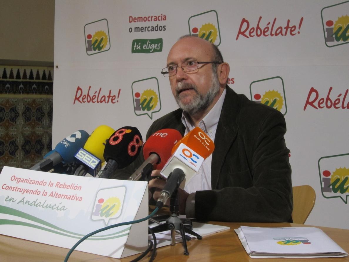 García (IU) acusa a «ciertos sectores del PSOE» de querer «boicotear» el proyecto de Majarambú