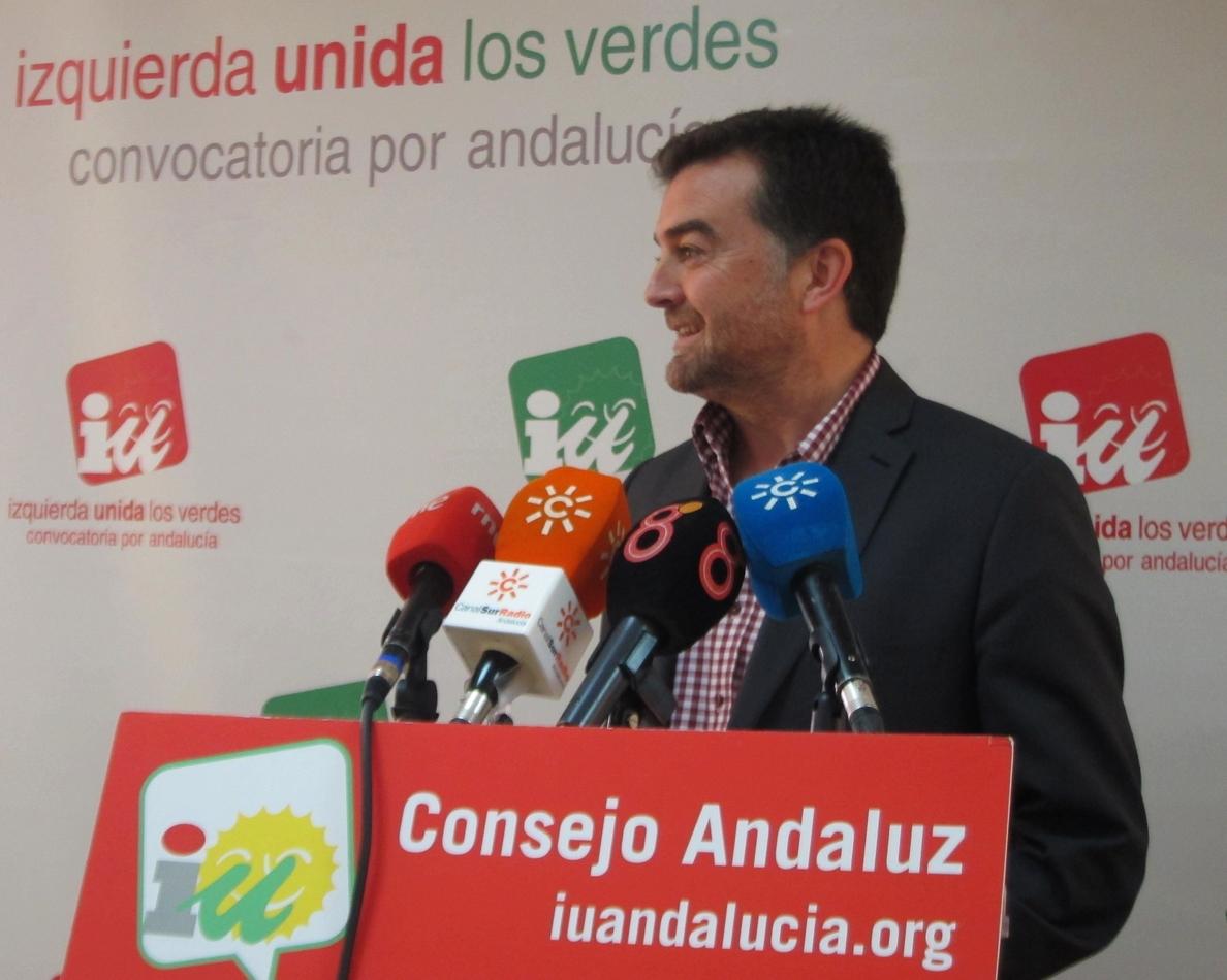 IU de Andalucía afirma que la propuesta del nuevo decreto de comidas escolares será «bastante sensata»
