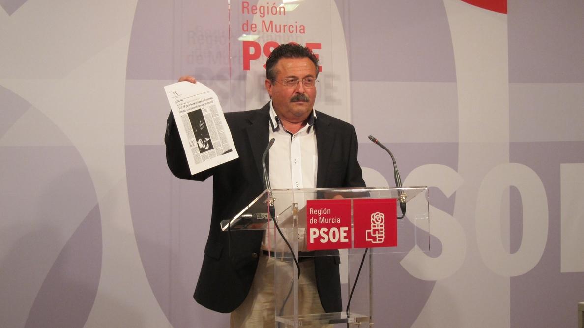 El PSOE se opone radicalmente «a las nuevas reglas de explotación del Tajo-Segura que quiere imponer el PP»