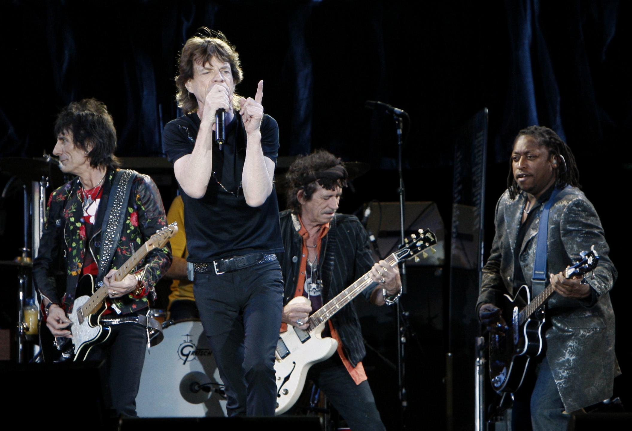 Los Rolling Stones actuarán el 25 de junio en el Santiago Bernabeu de Madrid