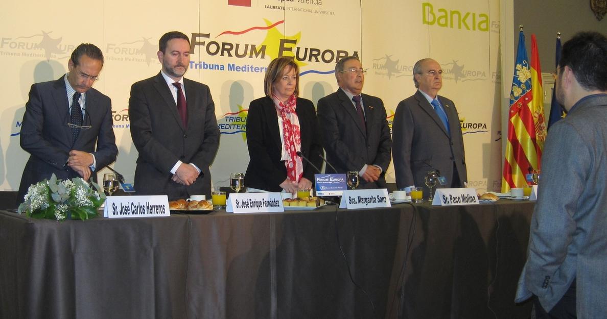 Sanz (EUPV) sitúa elección de candidato tras las europeas y descarta que «pasados» impidan pactar un futuro de progreso