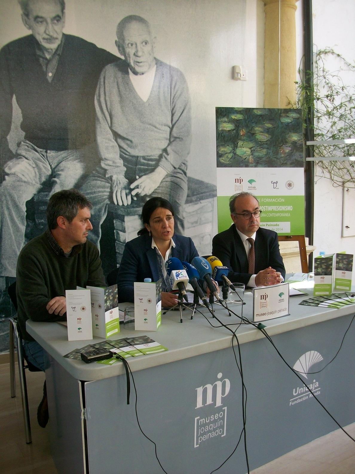 Unicaja organiza en Ronda un curso gratuito de formación sobre impresionismo y pintura contemporánea