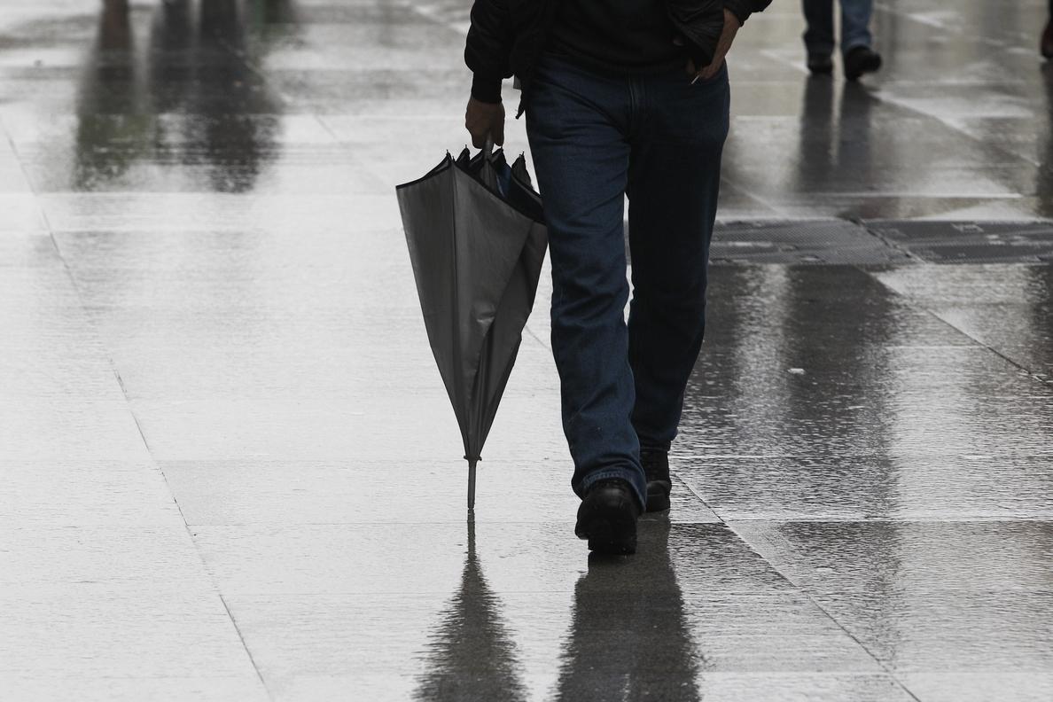 41 provincias, en alerta este miércoles por viento, lluvia, nieve o grandes olas