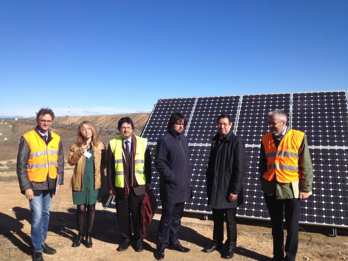 El Aeropuerto de Lleida-Alguaire estrena su planta fotovoltaica