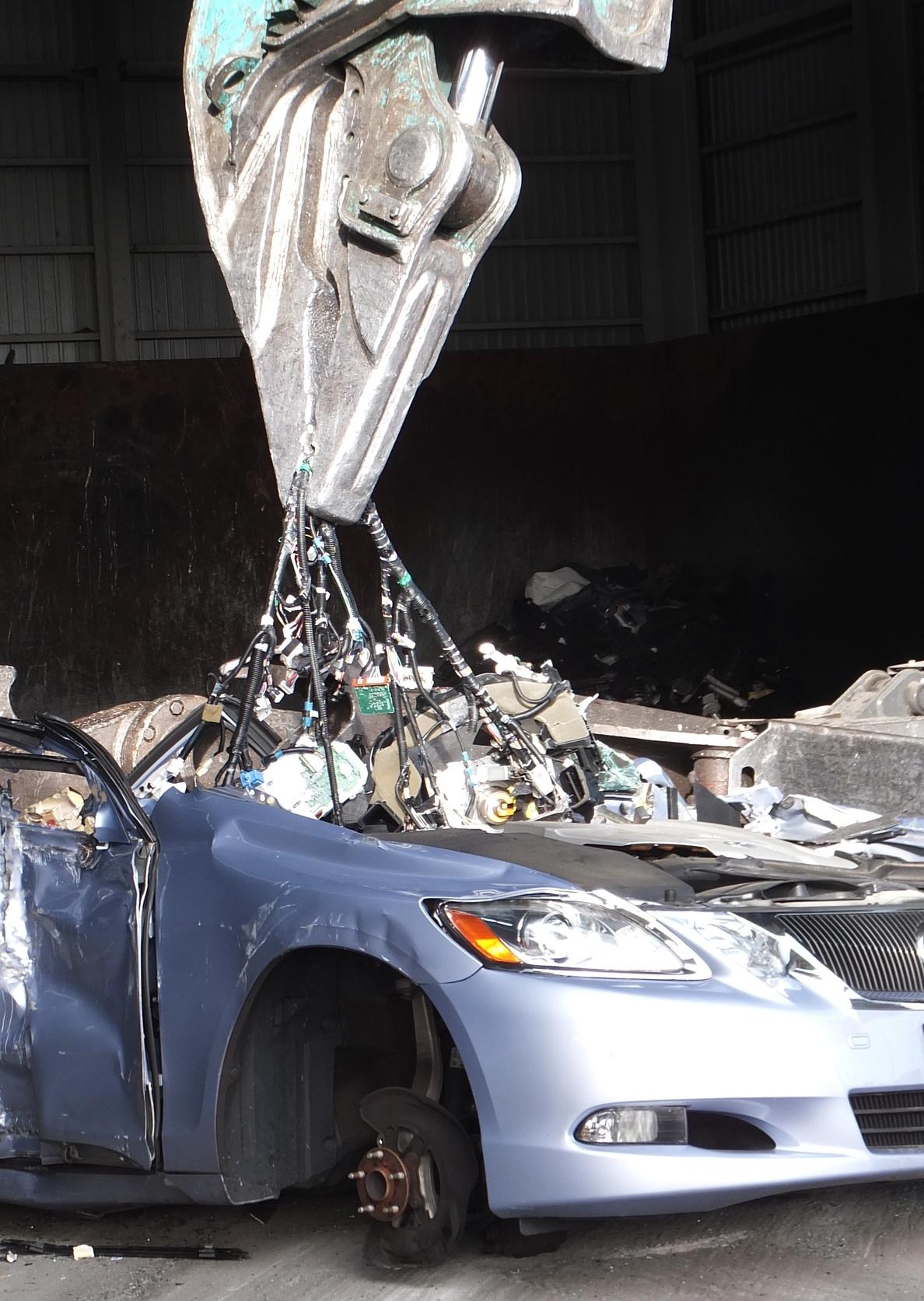 Toyota logra reciclar mejor el cobre de los vehículos
