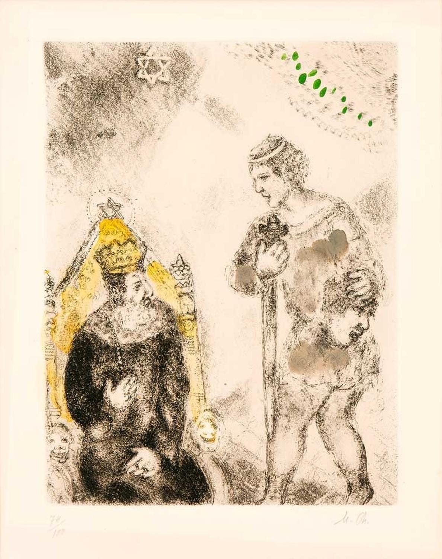 Valladolid mostrará desde el 2 de abril una muestra de 100 grabados originales de Chagall inéditos en España