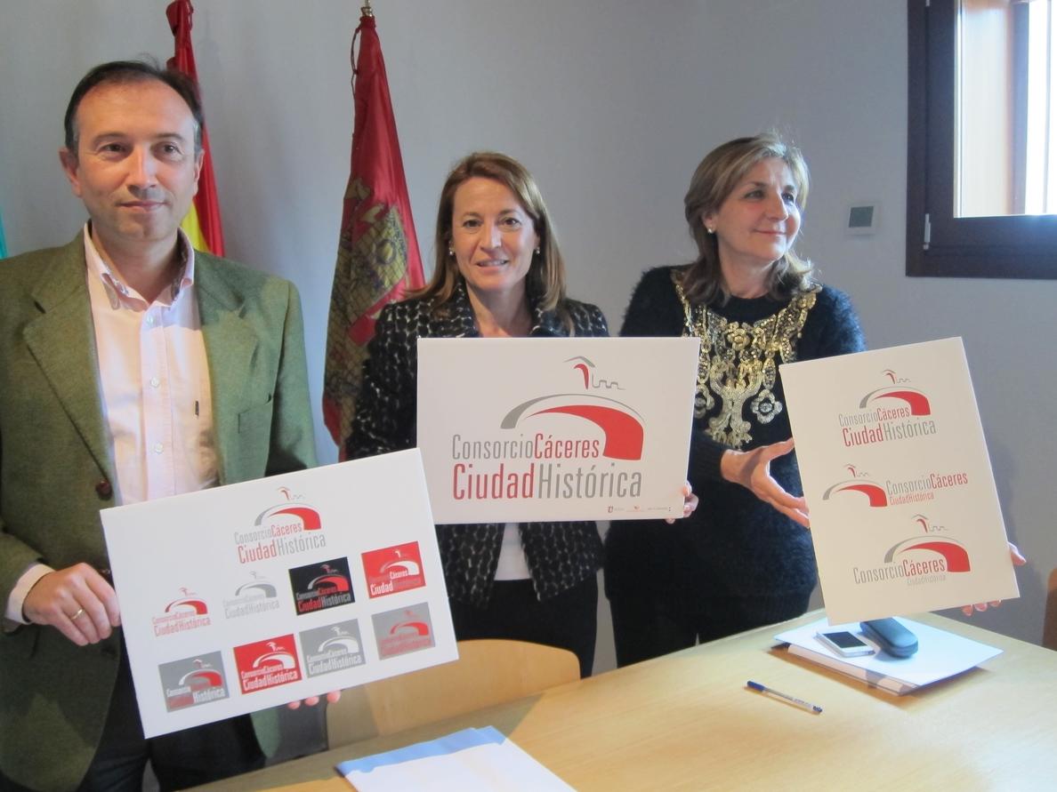 El Consorcio Cáceres Ciudad Histórica presenta su imagen corporativa y pone en marcha una web para difundir actividades