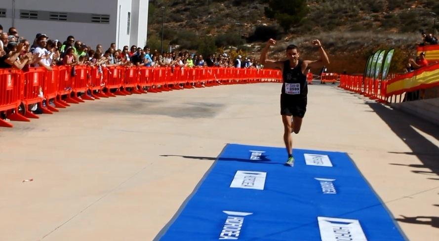Juan Antonio Meroño Escudero gana la V Ruta de las Fortalezas con un tiempo de algo más de cuatro horas