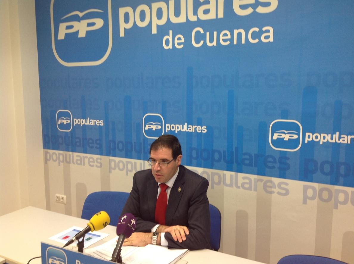 PP dice que cuando el PSOE gobernaba en la región sí «hacía resoluciones» sin presupuesto en materia de dependencia
