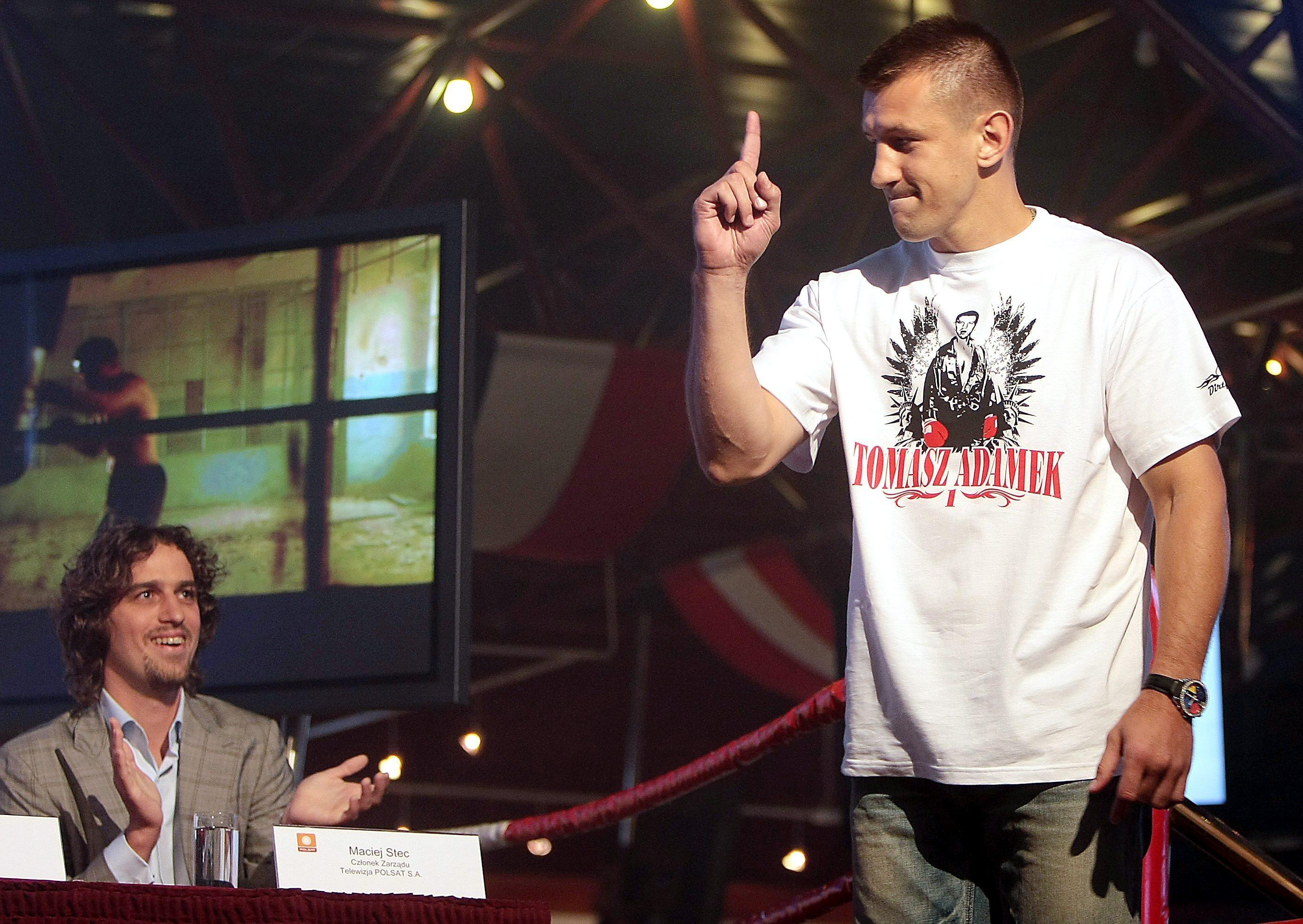 El campeón polaco de boxeo Tomasz Adamek será candidato a las elecciones europeas