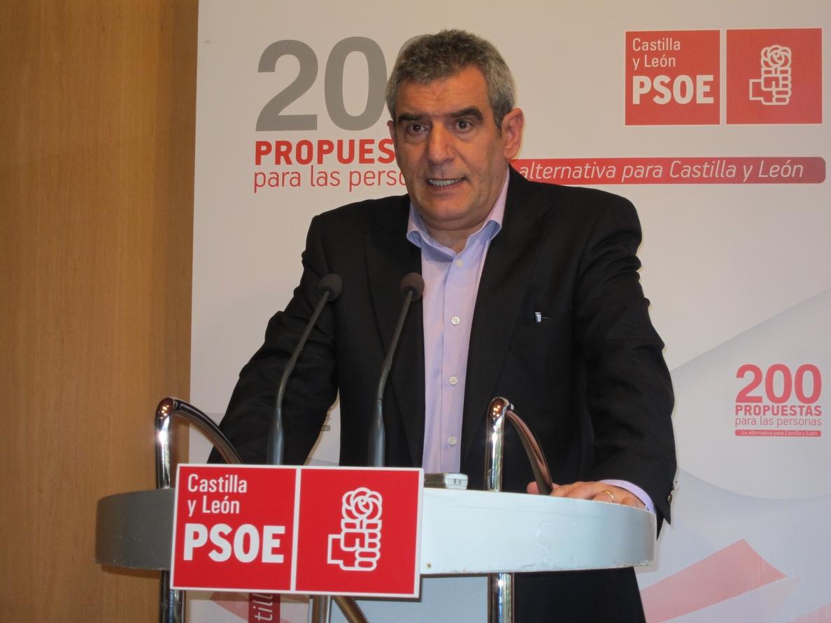 Villarrubia avisa de que «se lo pondrá difícil» al Gobierno para evitar la supresión de partidos judiciales
