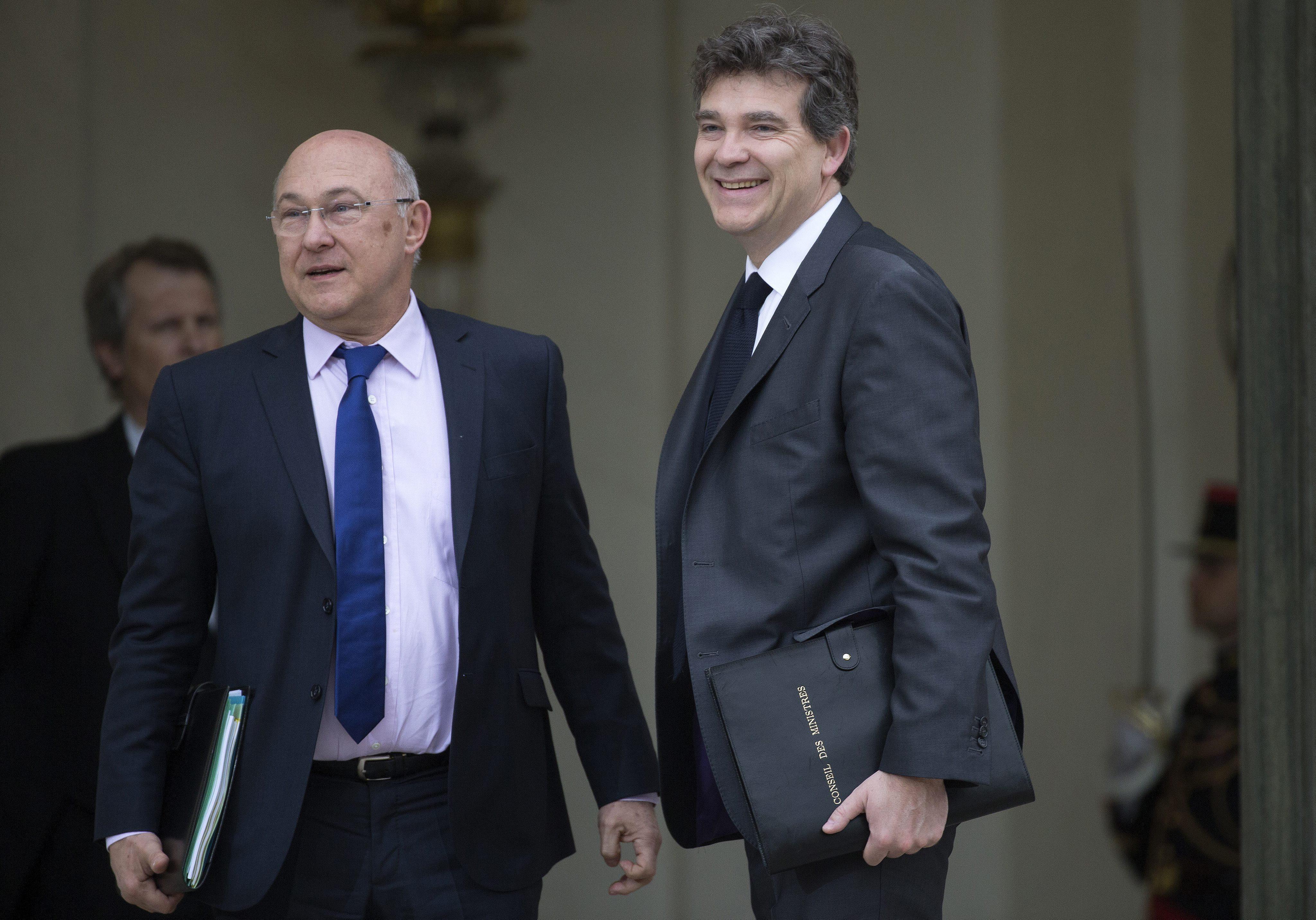 Los nuevos ministros de Economía y Finanzas de Francia van el lunes a Berlín