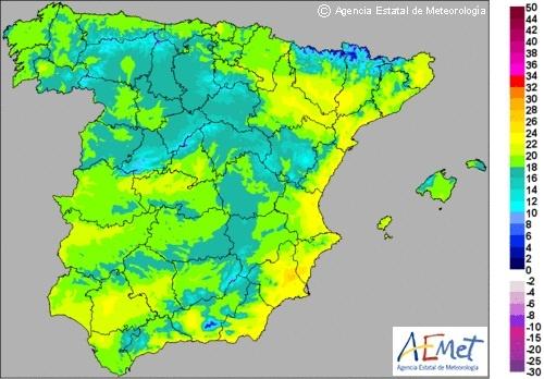 Las temperaturas máximas suben y alcanzan los 29 grados en Valencia