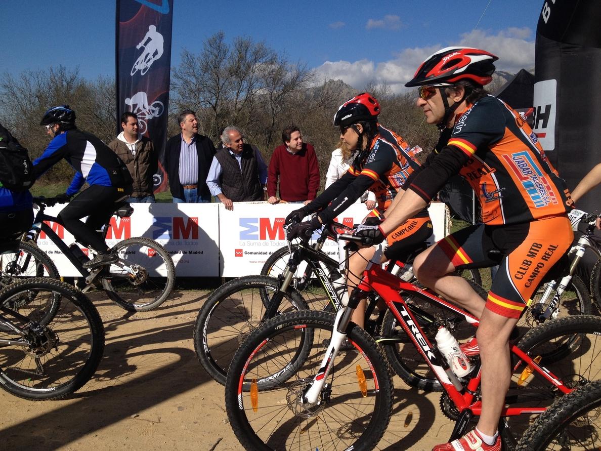 La Comunidad señaliza 22 rutas para bicicleta de montaña en el Parque de la Sierra de Guadarrama