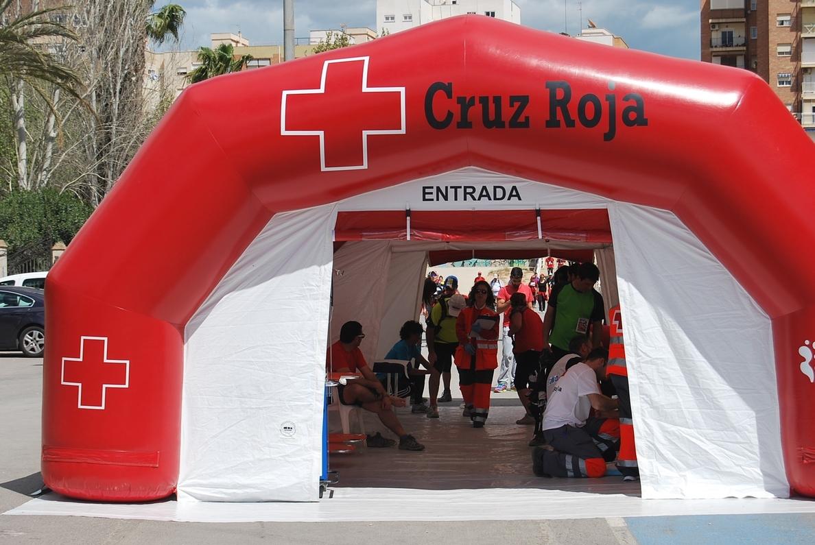 Cruz Roja realiza más de 3.000 asistencias sanitaria durante la celebración de la V Ruta de las Fortalezas