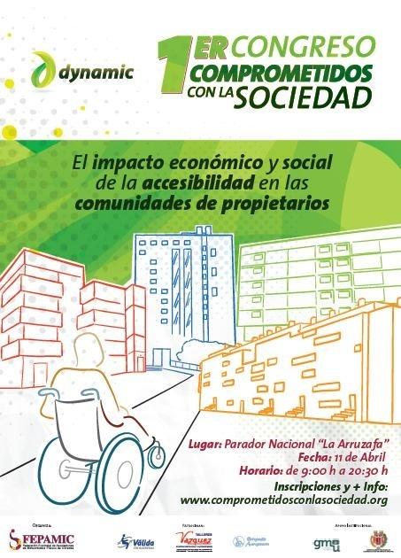 Fepamic y Cafcor organizan el primer Congreso sobre Accesibilidad que se celebrará en Córdoba