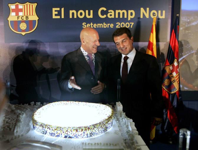 Bartomeu rechazó la remodelación del Camp Nou cuando Laporta era presidente