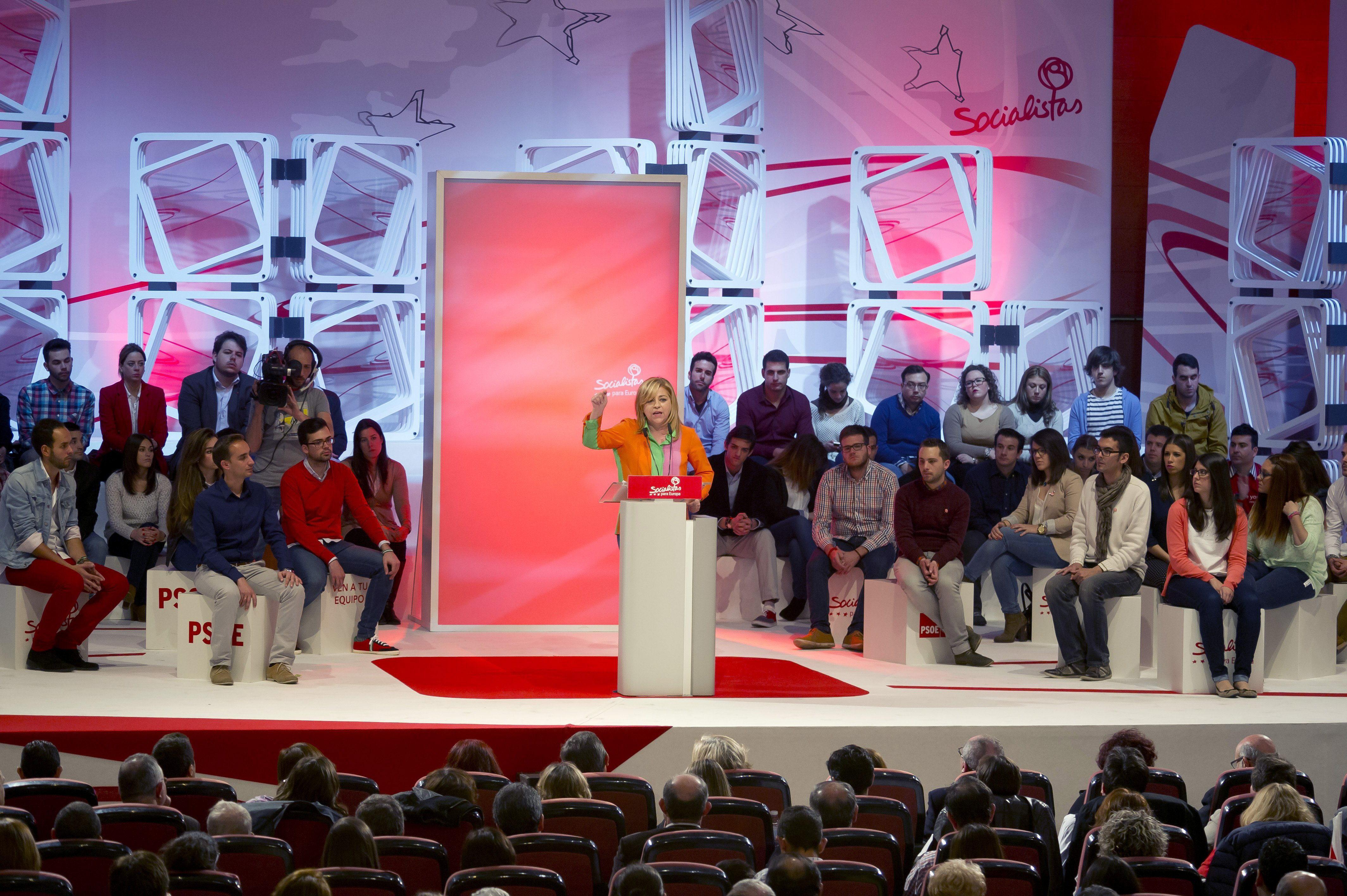Valenciano pide a los ciudadanos movilizarse para cambiar el rumbo de la UE