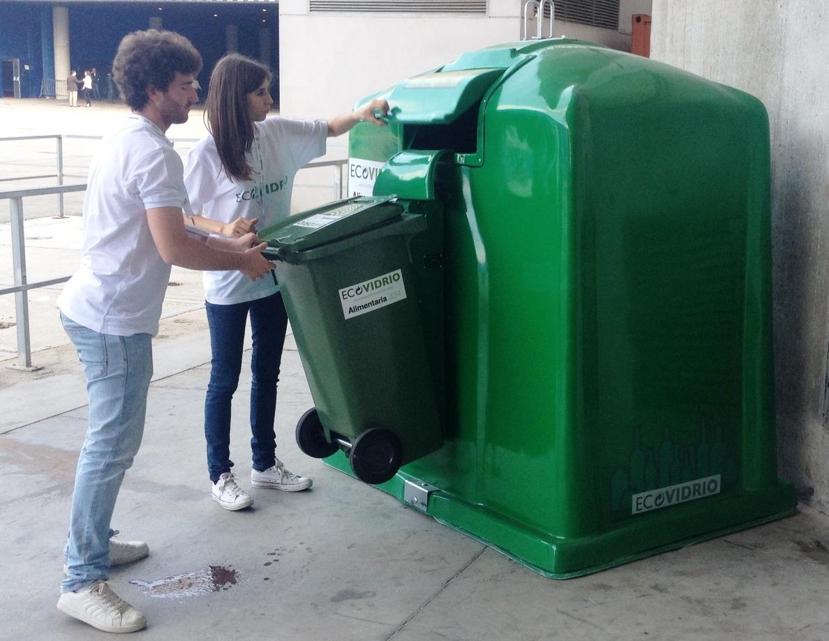 Alimentaria recicla 25.600 kilogramos de vidrio, un 17% más que el año anterior