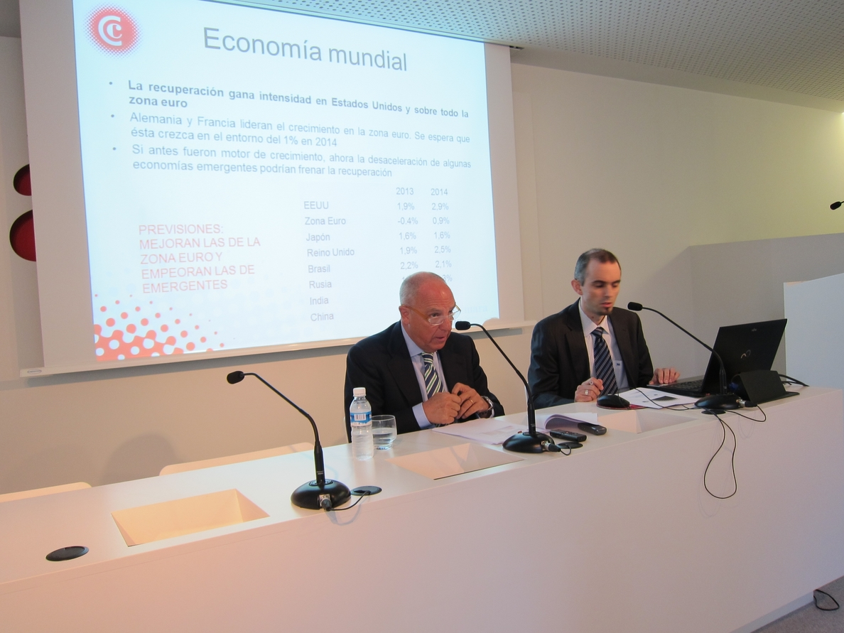 La Cámara de Comercio prevé que la economía mejore y destaca la importancia de la negociación del Convenio Económico