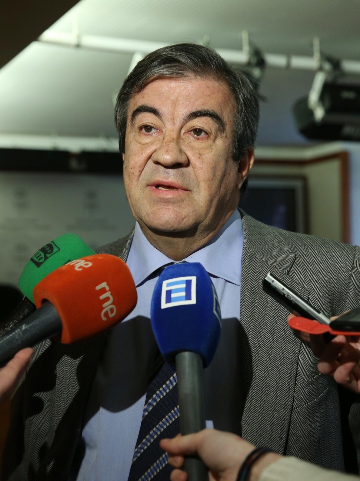 Cascos cree «admirable» la movilización de los leoneses en defensa del AVE Madrid-Asturias