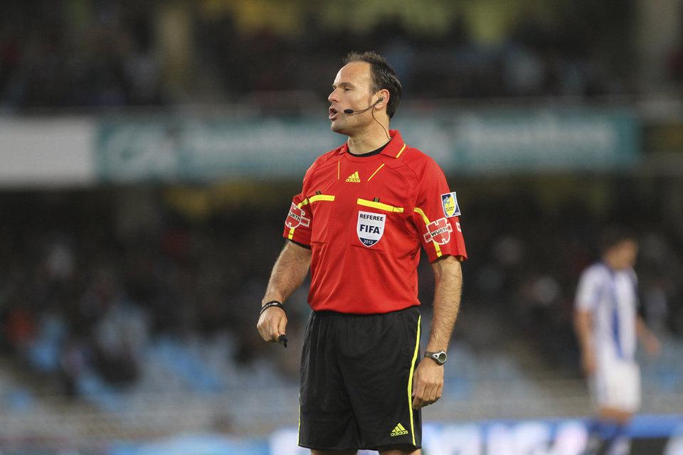 Mateu Lahoz será el árbitro de la Final de la Copa del Rey