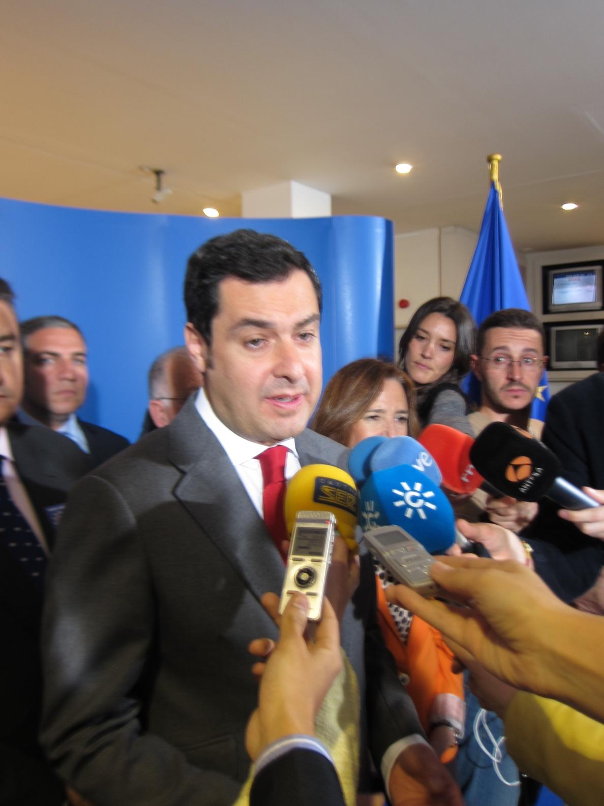 Moreno no cree que estar sin candidato para las europeas afecte al PP porque será alguien con «influencia y liderazgo»