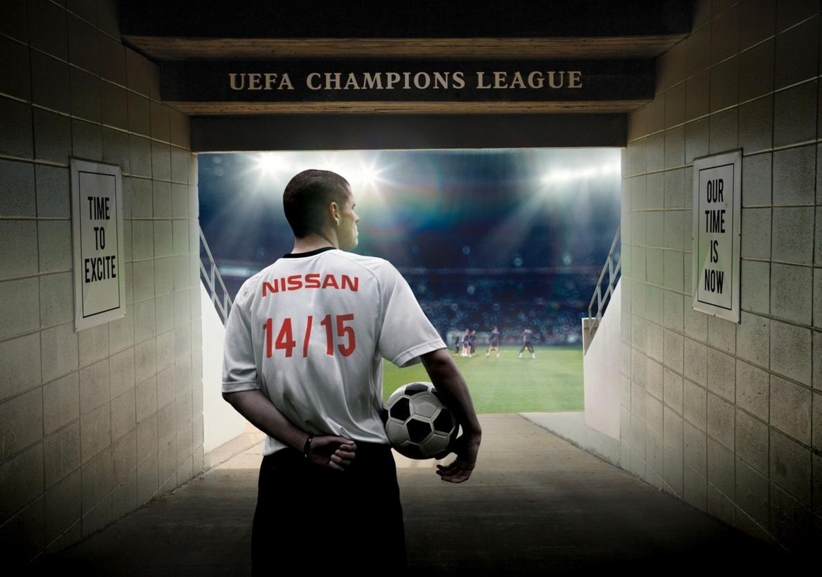 Nissan será patrocinador oficial de la Liga de Campeones los próximos cuatro años