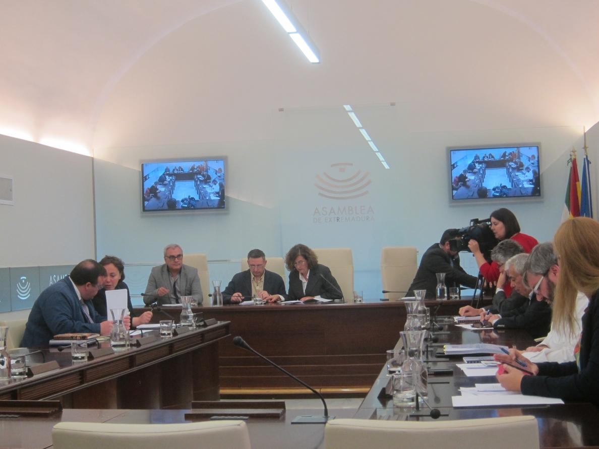 El Parlamento extremeño hará un dictamen sobre el informe del Tribunal de Cuentas relativo a contabilidad de 2010 y 2011