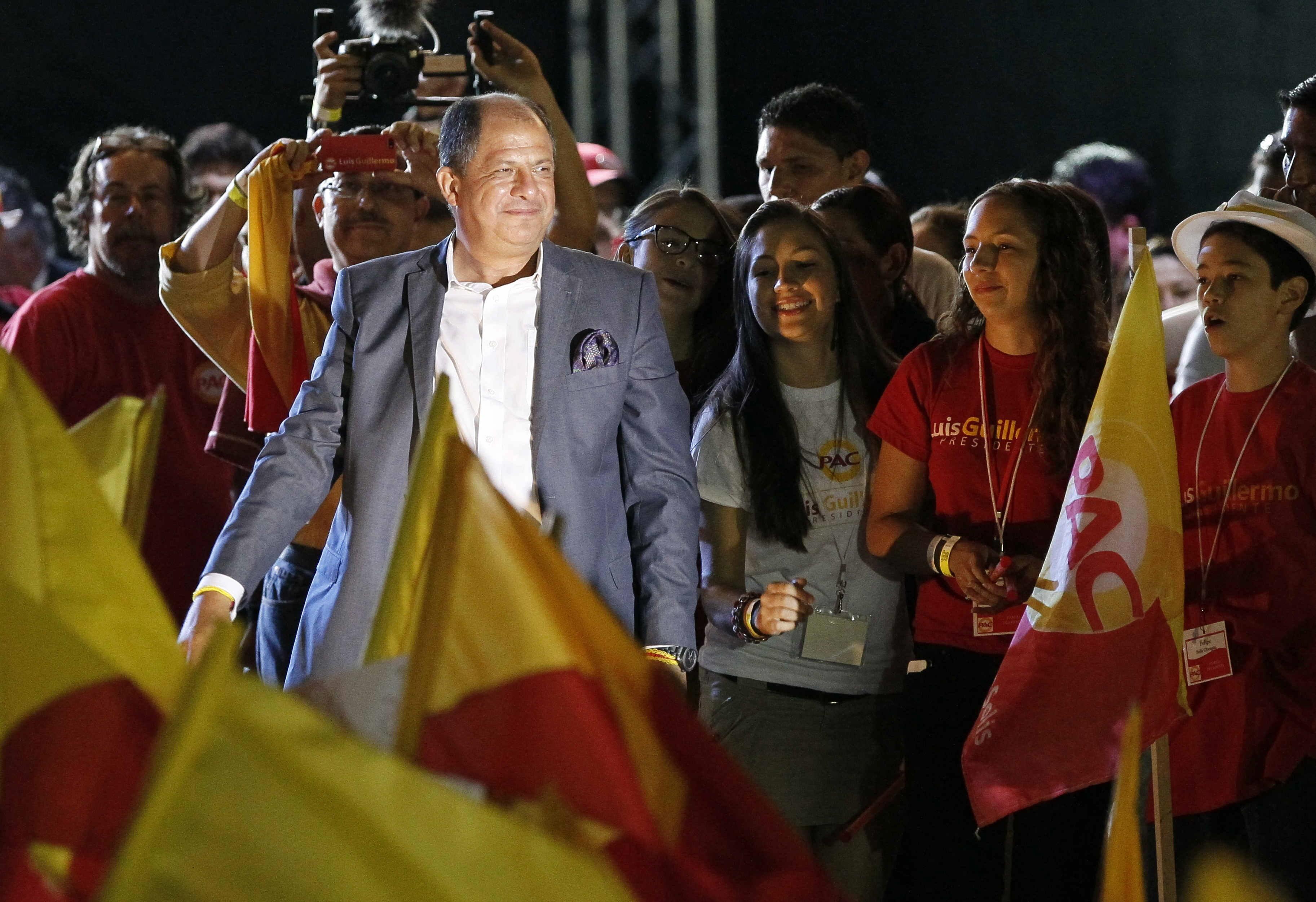 Solís, el profesor anónimo que llegó a la Presidencia de Costa Rica