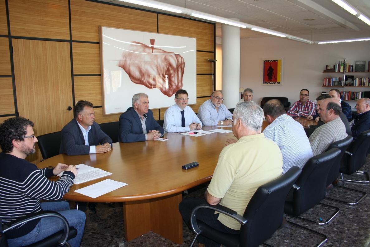Ximo Puig propone la cogestión de las políticas agrarias