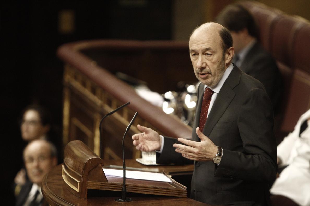 AMP-Consulta-Rubalcaba ofrece una reforma constitucional para seguir viviendo juntos que recoja aspiraciones de Cataluña