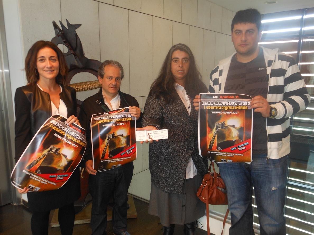 Bideguren dice que sería «beneficioso» dar ayudas a afectados del incendio de Bermeo para reconstruir sus viviendas