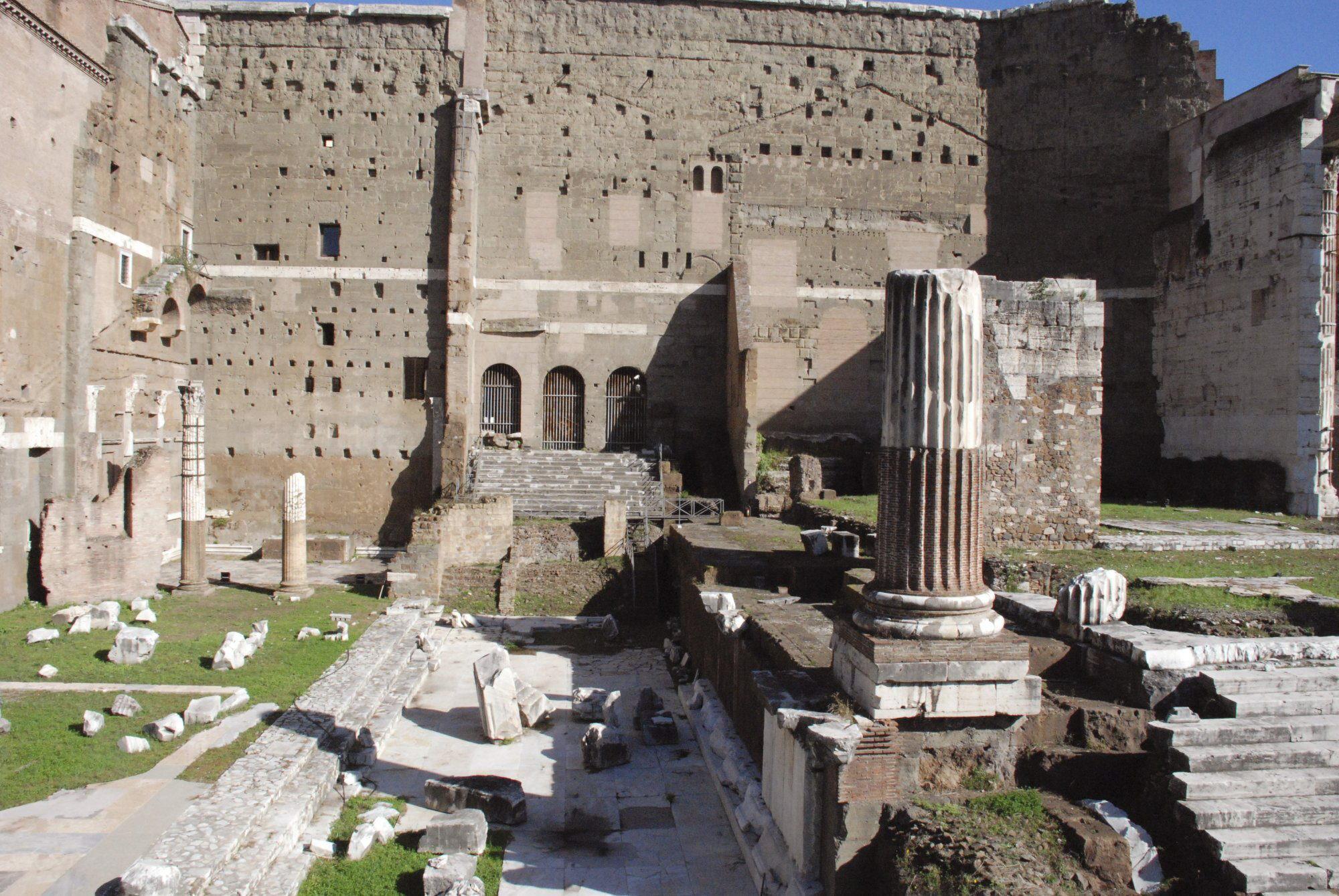 El Foro de Augusto en Roma cobrará vida gracias a la tecnología audiovisual