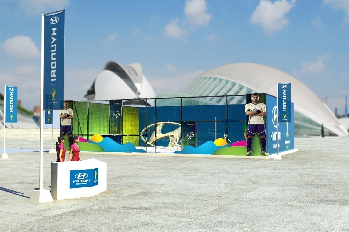 Hyundai recorrerá 58 ciudades para promocionar el Mundial de de Brasil