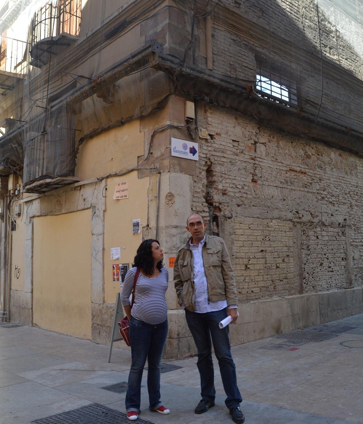 IU pide anular la licencia del antiguo Palacio del Marqués de Sonora y que se dedique a uso cultural y turístico