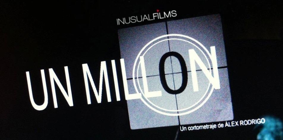 Juanjo Artero rueda en Valencia el corto »Un Millón», que reflexiona sobre la «telebasura»