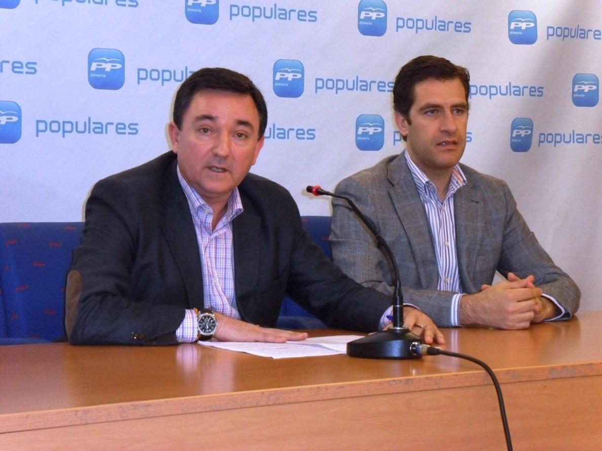 PP acusa a PSOE de «inmovilismo» en Europa y destaca los «grandes logros de Rajoy» para la provincia