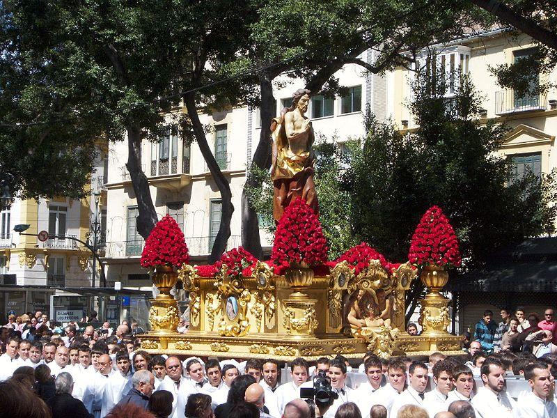 Horarios e Itinerarios de las procesiones de Málaga en Semana Santa 2014