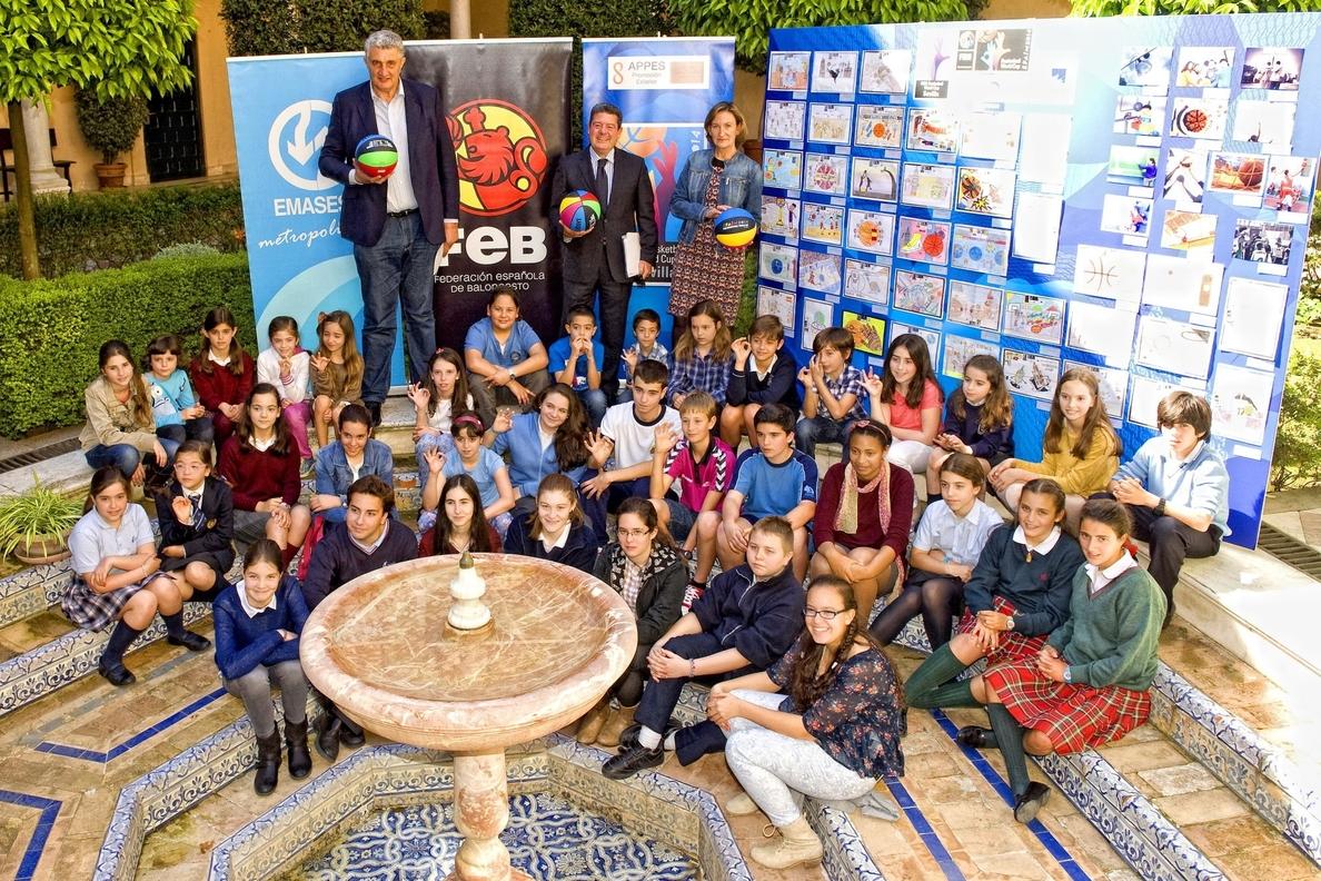 El Programa Colegios Basket Lover 2014 presenta sus ganadores en Sevilla