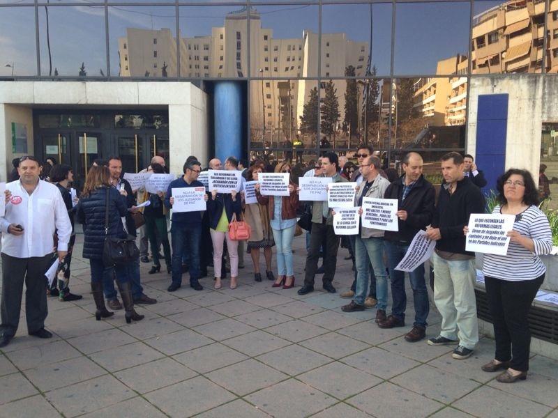 Sindicatos llaman a la movilización social contra las reformas del Gobierno en la Administración de Justicia