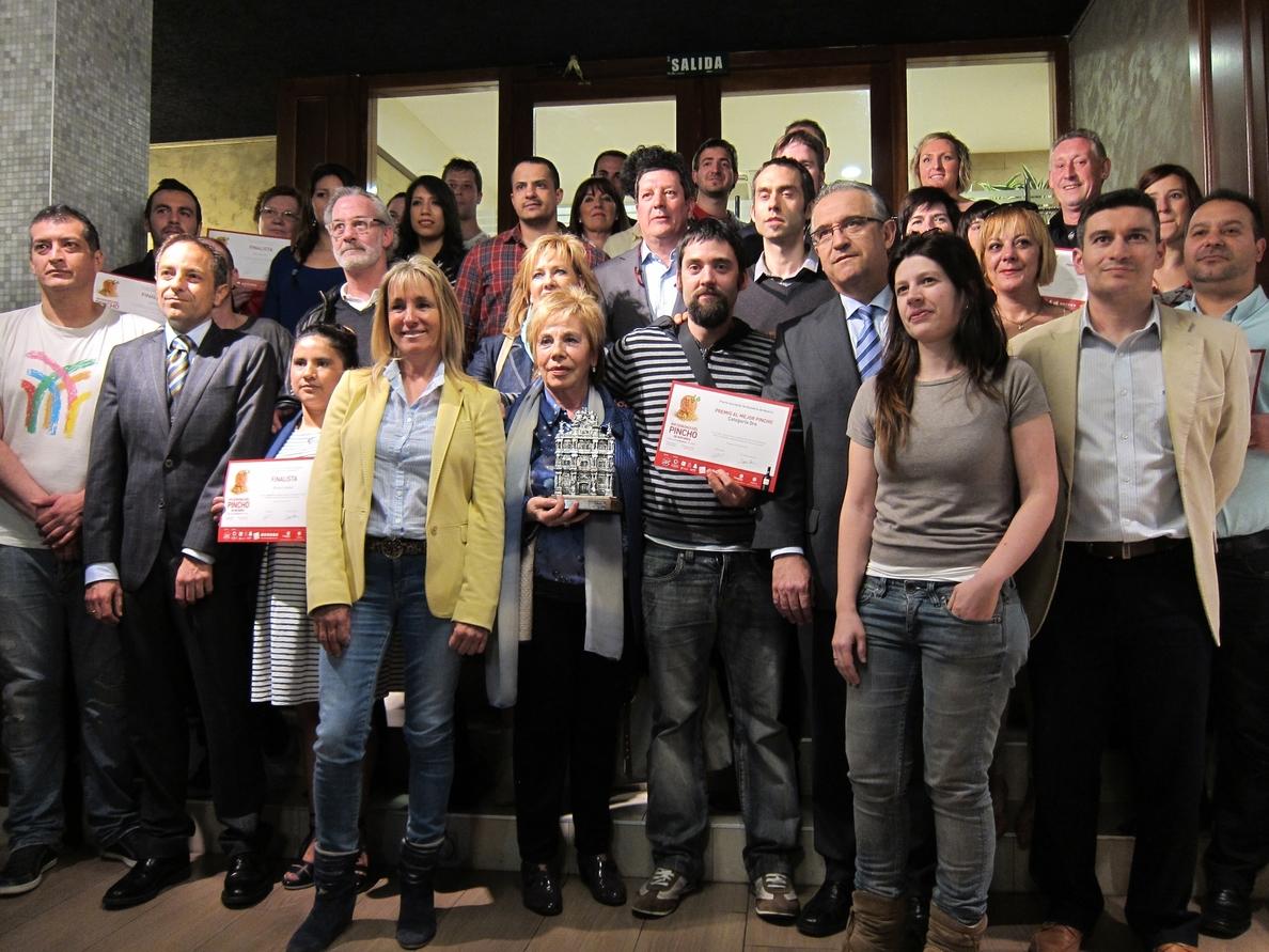 El restaurante Ábaco de Huarte, ganador por segundo año consecutivo de la Semana del Pincho de Navarra
