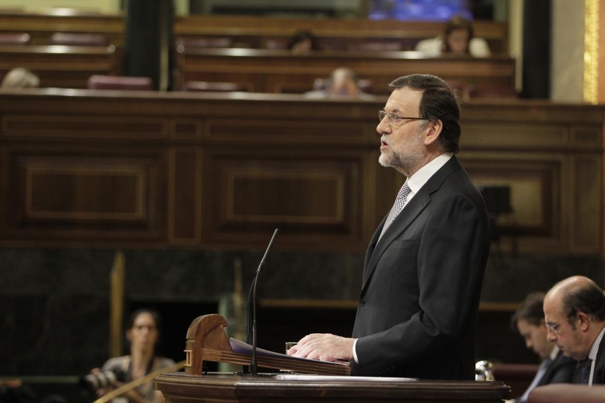 (Ampliación) Rajoy afirma que la mejora en el empleo es «constante» y está «consolidada»