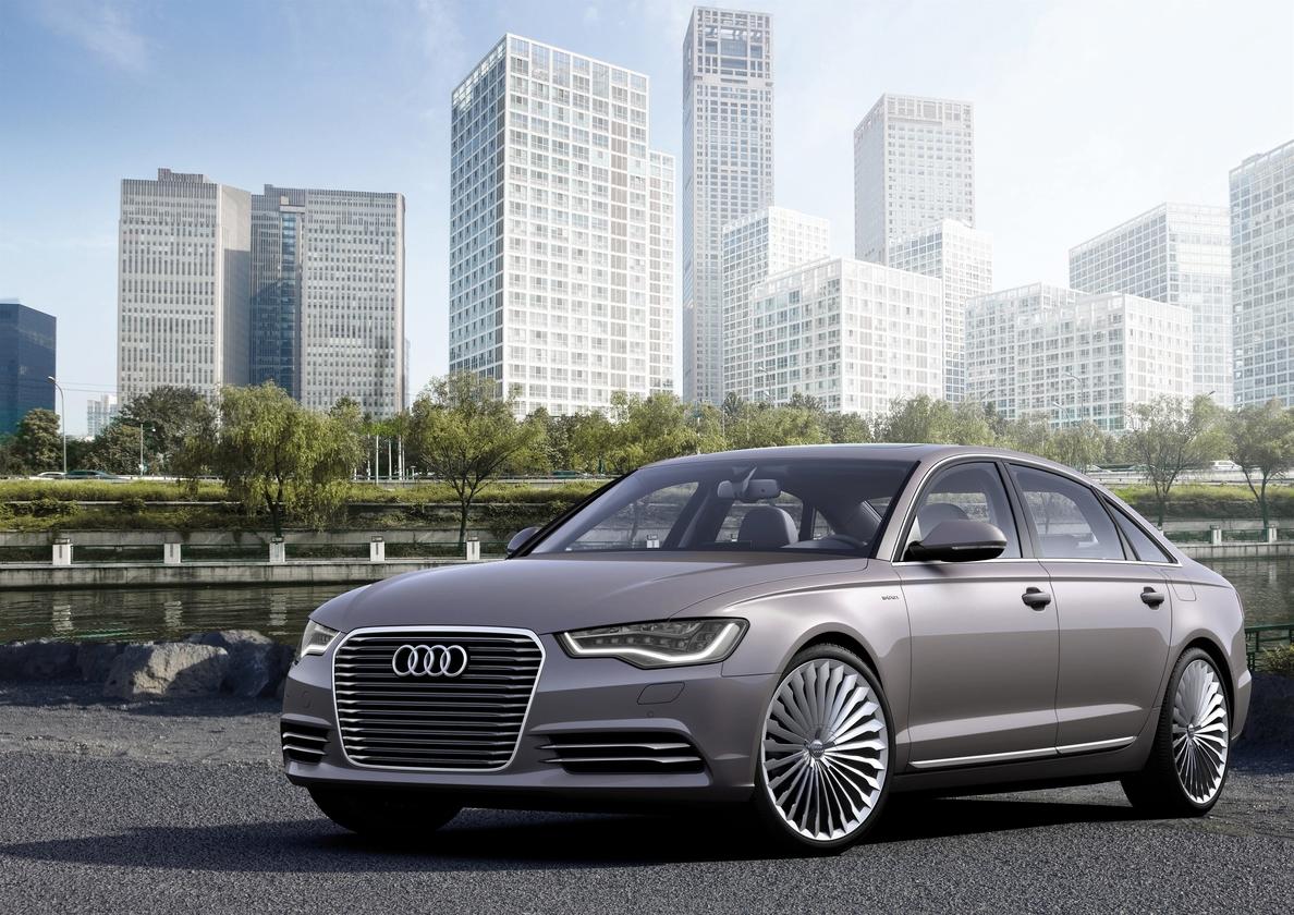Audi lanzará en China la versión híbrida enchufable del A6